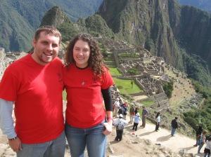 We're at Machu Picchu!