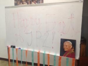 Happy Feast Day Blessed John Paul II!