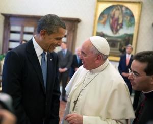 Pope_Francis_meets_Barack_Obama